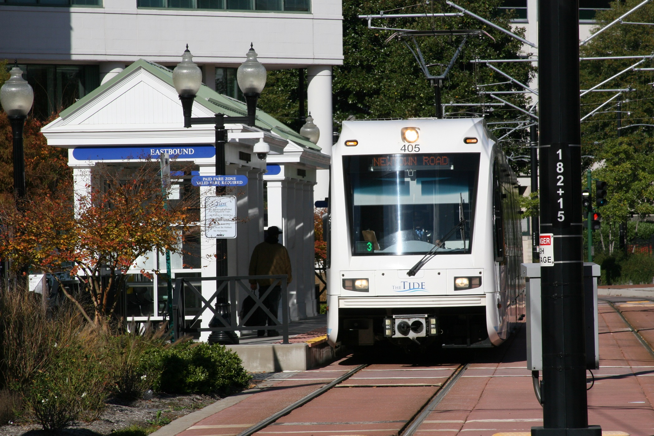 The Tide Light Rail Transit System
